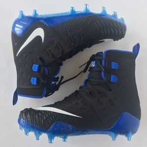 Nike Force Savage Elite TD Black/Blue/White Sz 10